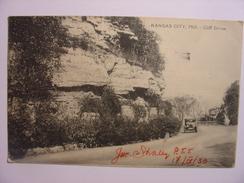 CPA USA - KANSAS CITY MO - CLIFF DRIVE - états Unis United States - 10 AVRIL 1930 - ECRITE ET DATEE PAR L'EDITEUR - Etats-Unis