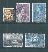 Pays Bas Timbres De 1933/34  N°259 + 263 A 266    Oblitérés
