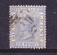 Sierra Leone 1883-2e1/2  P.Usato