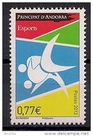 2012 Androrra Fr. Mi. 747 **MNH  Judo