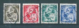Pays Bas Timbres De 1934  N°268 A 271    Oblitérés