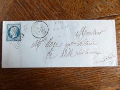 Lt Du27.05.17_ LSC  Avec N°14 Bleu   Nuance , De Vaison,verso!!,variété,