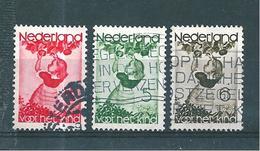 Pays Bas Timbres De 1935  N°278 A 280    Oblitérés
