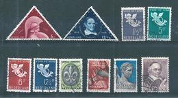 Pays Bas Timbres De 1936  N°286 A 291    Oblitérés