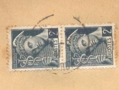 2 C Mercure N° 405 En Paire Sur Enveloppe 16/07/1941 Rare Tarif Journal De 100 à 125 G Demi Tarif Rayon Limitrophe TTB