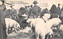 Lannion     22       Marché Aux Cochons    ( Plis . Voir Scan) - Lannion
