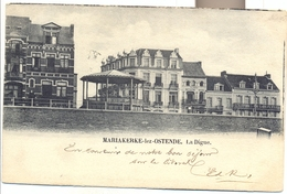 MARIAKERKE LEZ OSTENDE  LA DIGUE   1902
