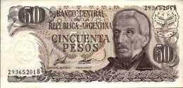 ARGENTINE  50  PESOS  De  1976nd  Pick 301a?  UNC/NEUF - Argentina