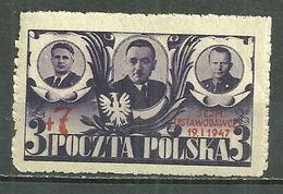 POLAND MNH ** 482 REUNION DE L´ASSEMBLEE LEGISLATIVE APRES LA GUERRE