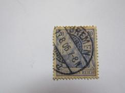 All119   20pf Bleu   Germania   Mi 57