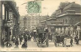 Pays Div-ref J535- Royaume Uni - United Kingdom - Uk - London - Londres - Broad Street Station - - London