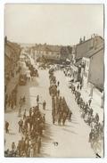 CPA Photographie - PONTARLIER, DEFILE MILITAIRE SEPTEMBRE 1946, 1er ANNIVERSAIRE LIBERATION DE LA VILLE - Doubs 25 - - Pontarlier