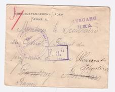 Camp De Prisonnier De SENNE II  Avec Censure F.a;  ENVELOPPE POUR PONTIVY   Voir 2 Scans
