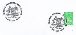 45  SULLY SUR LOIRE  Congrès Régional Philatélique  19/10/02