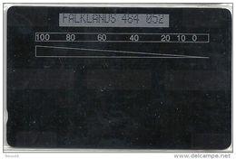 FALKLANDS :  1000u CHORLEY Test Card  Rare Only 100 - Falkland Islands