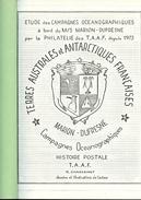 """ETUDE DES CAMPAGNES OCEANOGRAPHIQUES Du M/S """"MARION-DUFRESNE"""" Par La Philatélie Depuis 1973 - Ship Mail And Maritime History"""