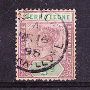 Sierra Leone 1897-1/2  P   .Usato