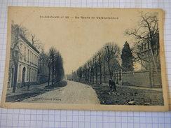 CPA - (59) - ST SAULVE - LA ROUTE DE VALENCIENNES - PHOT COMBIER MACON - R1631 - France