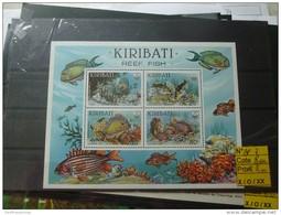 Thematique Poisson Bloc Kiribati En Neuf Bf7 - Morocco (1956-...)