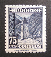LOT R1703/148 - ANDORRE ESPAGNOL -  N°47 NEUF ** - Cote : 22,00 €