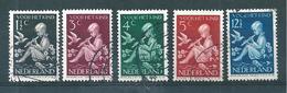 Pays Bas Timbres De 1938  N°312 A 316    Oblitérés