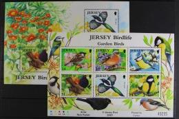GB Jersey, MiNr. Block 62 + 63, Postfrisch / MNH