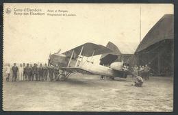 +++ CPA - CAMP D'ELSENBORN - Avion Et Hangars - Aviation - Vliegmachien En Loodsen - Nels  // - Butgenbach - Butgenbach