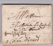LAC De ?? Pour Châteaurenard (13) - Janvier 1640 - Sans Marque Postale