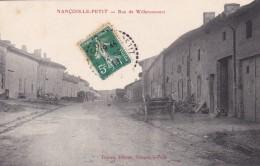 D2 - 55 - Nançois-le-Petit - Meuse - Rue De Willeroncourt - France