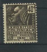 FRANCE   Exposition Coloniale Internationale De Paris 1931  N° Y&T  271 * - Nuevos