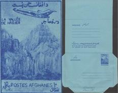 Afghanistan Vers 1980. Aérogramme, Avion Dans Les Montagnes - Géologie