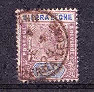 Sierra Leone 1897-2e 1/2 P Usato
