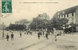 - Yvelines -ref-B584- Maisons Laffitte - Avenue De Longueil - Restaurant Lefevre - Restaurants - Rails De Tramway - - Maisons-Laffitte