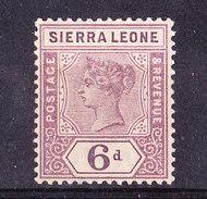 Sierra Leone 1897- 6  P Nuovo MLH