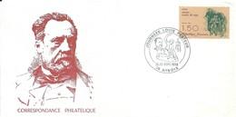 Cachet Commémoratif Illustré Journées Louis Pasteur - Arbois - 21-22/09/1985