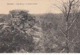 Cp , 77 , BOURRON-MARLOTTE , Long-Rocher , La Roche Courbet - France