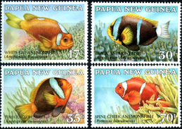 PAPUA NEW GUINEA 1987 Fishes, Fish, Marine Life, Fauna MNH