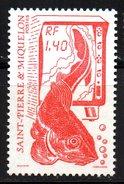 SPM Saint Pierre Et Miquelon  N° 502 Neuf  XX MNH  Luxe  Cote Y&T  0,80  €uro - St.Pierre & Miquelon