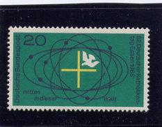 Germany 1968, MNH Scott # 989, CROSS & DOVE - [6] République Démocratique