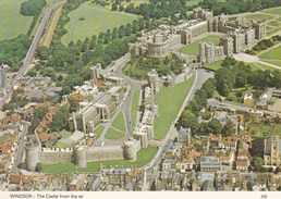 WINDSOR CASTLE. AERIAL VIEW