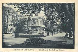 Pays Div-ref J474- Luxembourg - Luxemburg - Mondorf Les Bains - Pavillon De La Salle De Lecture  - Carte Bon Etat  - - Mondorf-les-Bains