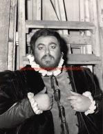 Luciano Pavarotti Opera Photo 18x24cm - Photos