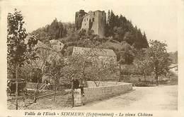 Pays Div-ref J470- Luxembourg - Luxemburg - Vallee De L Eisch - Simmern  - Le Chateau  - Carte Bon Etat  - - Unclassified