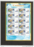 MINIFEUILLE     F 3365 B    LOGO  TIMBRES PERSONNALISES