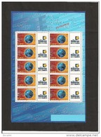 MINIFEUILLE     F 3532 A      LOGO  TIMBRES PERSONNALISES