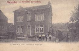 Polleur - Ecole Communale De Garçons (animée, Chocolat Des Patrons Pâtissiers) - Theux