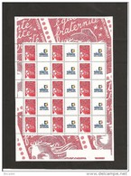 MINIFEUILLE   3417     TIMBRES PERSONNALISES   NEUF XX