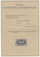 FRANCE - POSTE AERIENNE - Poste Aérienne N°15 - Neuf - Avec Certificat - Très Beau