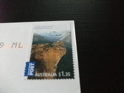 STORIA POSTALE FRANCOBOLLO COMMEMORATIVO  AUSTRALIA  SEAL BAY KANGAROO ISLAND LOENI MARINI - Altri