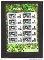 MINIFEUILLE     F 3533 A      LOGO  TIMBRES PERSONNALISES
